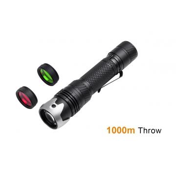 Laserová svítilna Acebeam W10 / CRI≥90 / 250lm (3.3h) / 1000m / IP68 / Včetně Li-Ion 21700 / 128gr