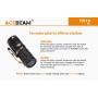 Svítilna Acebeam TK16 CRI≥95 / 5000K / 1800lm (45m) /158m / 6 režimů / IPx8 / Včetně Li-Ion 16340 / 37gr