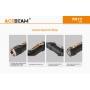 Svítilna Acebeam TK17 / 6500K / 2300lm (45m) / 146m / 5 režimů / IPx8 / Včetně Li-Ion 18350 / 50gr