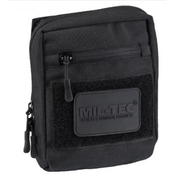 Mnohoúčelove pouzdro na suchý zip MilTec (134903) / 15x5,5x17,5cm Black