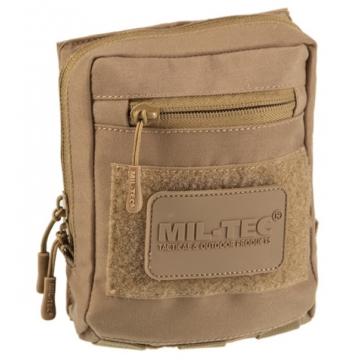 Mnohoúčelove pouzdro na suchý zip MilTec (134903) / 15x5,5x17,5cm Dark Coyote