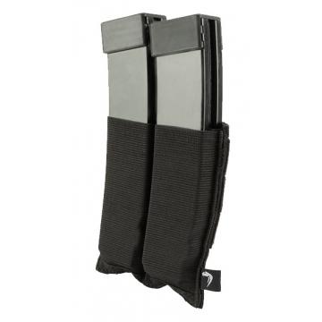 Elastická sumka MOLLE na zásobníky SMG Viper Tactical Double SMG Mag Plate Black