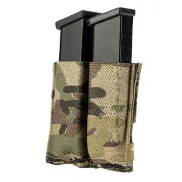 Elastická sumka MOLLE na zásobníky do pistole Viper Tactical Double Pistol Mag Plate VCAM