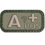 Nášivka na suchý zip A+ Viper Tactical Green / 5x2.5cm