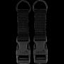 Sada MOLLE přezek Viper Tactical VX Buckle Up (2ks) Black