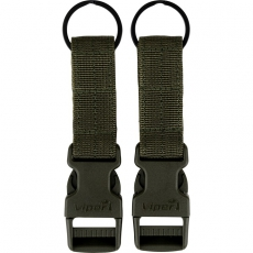 Sada MOLLE přezek Viper Tactical VX Buckle Up (2ks) Green