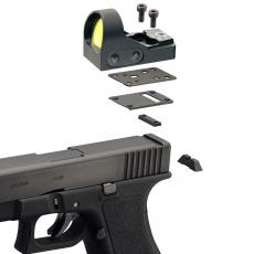 Montáż pro kolimátory Delta Optical MiniDot HD na Glock 9 mm