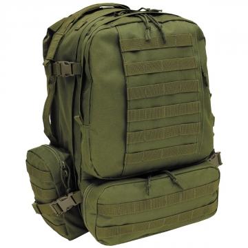 Batoh MFH Tactical-Modular / 45L / 42x53x30cm OD Green