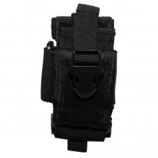 Pouzdro MOLLE na mobil MFH / 15x7,5x1,5cm Black
