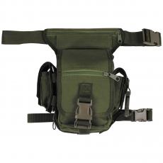 Brašna na stehno MFH / 20x30x13cm OD Green