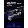 Montáž magnetická Klarus FM2 na zbraň pro svítilny 23-27.5mm