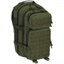 Batoh MFH US Assault I Basic / 30L / 23x44x24cm OD Green