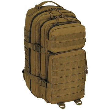 Batoh MFH US Assault I Basic / 30L / 23x44x24cm Coyote Tan