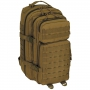 Batoh MFH US Assault I Basic / 30L / 23x44x24cm Coyote Tan