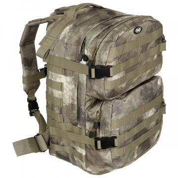 Batoh MFH US Assault II / 40L / 30x48x27cm HDT-camo