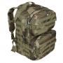 Batoh MFH US Assault II / 40L / 30x48x27cm WoodLand