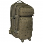 Batoh MFH US Assault I Laser / 30L / 23x44x24cm OD Green