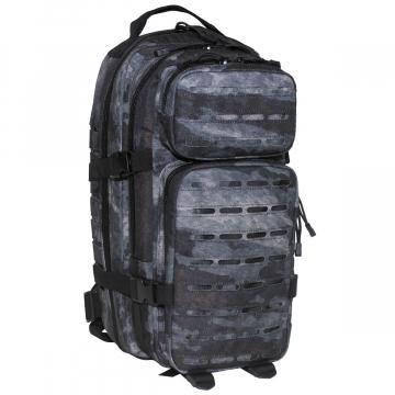 Batoh MFH US Assault I Laser / 30L / 23x44x24cm HDT-camo LE