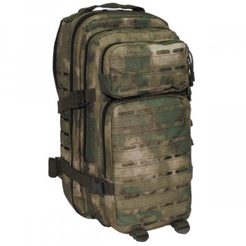 Batoh MFH US Assault I Laser / 30L / 23x44x24cm HDT-camo FG