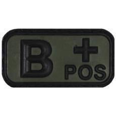 Nášivka na suchý zip MFH B+ OD-Green / 5x2,5cm