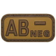 Nášivka na suchý zip MFH AB- Khaki / 5x2,5cm