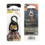 Nerezová karabina na klíče Nite Ize KeyRack Plus