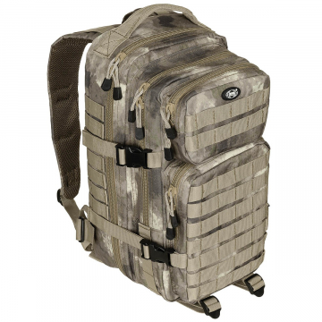 Batoh MFH US Assault I / 30L /  23x44x24cm HDT-camo