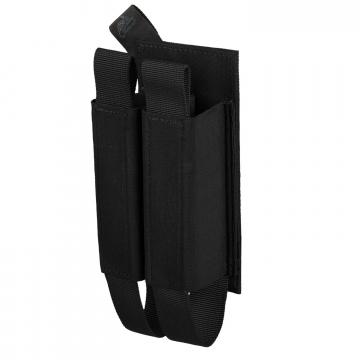 Dvojitá sumka na suchý zip Helikon Double Rifle Magazine Insert Black