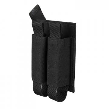 Dvojitá sumka na suchý zip Helikon Double Pistol Magazine Insert Black
