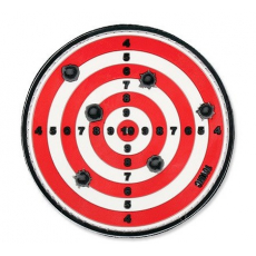 Nášivka na suchý zip 101 Inc. Target - Red / 80mm
