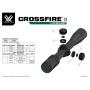 Puškohled Vortex Crossfire II 2-7X32 V-Plex (MOA)